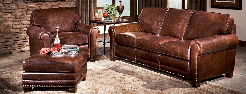 Smith Brothers of Berne has about 900 fabrics and 100 leathers available so there is always a huge variety to choose from when designing your next custom piece of furniture.